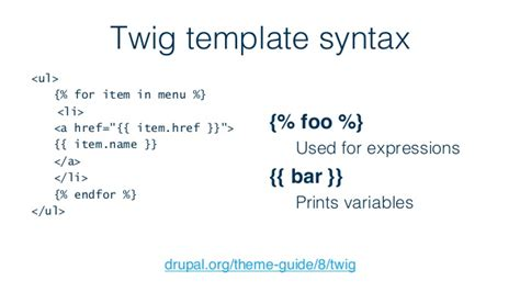 twig template variables a introduction to aquia drupal 8