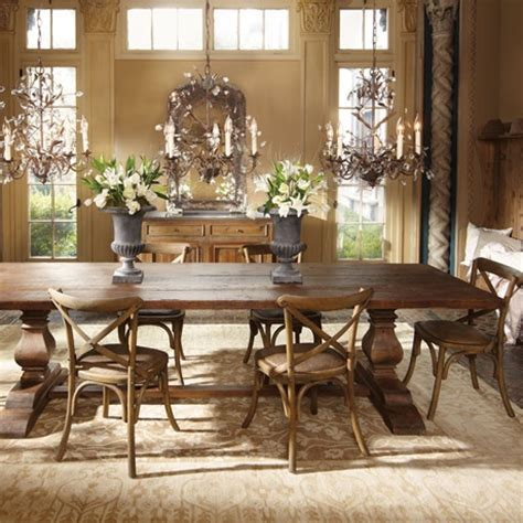 17 best ideas about large dining tables on