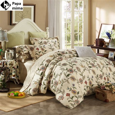 Bed Quilt Sets by Noble Bedding Set 4pcs 100 Cotton Duvet Quilt