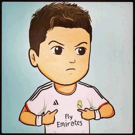 imagenes real madrid caricaturas cr7 cartoon cristiano ronaldo pinterest dibujos animados