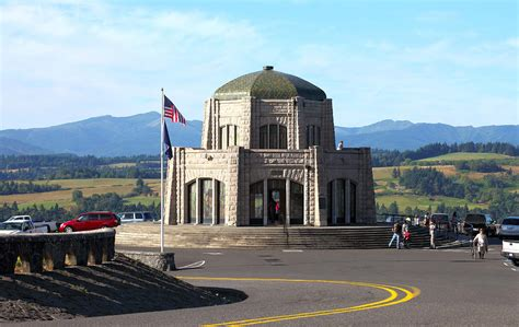 Vista House Oregon Photograph By Gino Rigucci