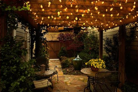 Fascinating Patio String Lights Ideas String Lighting For Patio