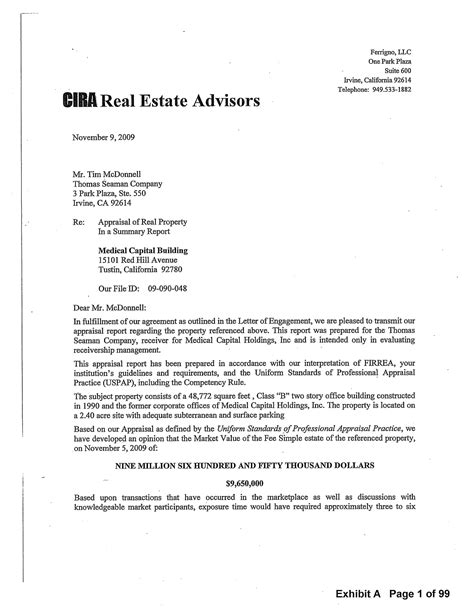broker opinion of value template best photos of rent property business letter sles