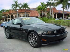 2010 Ford Mustang Black 2010 Black Ford Mustang Gt Premium Coupe 25841581