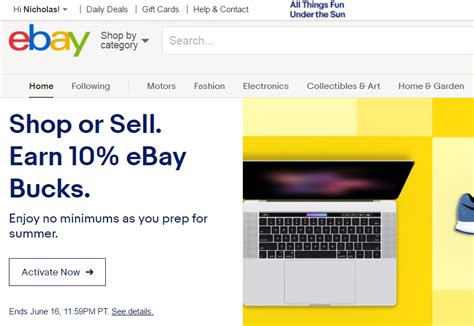 ebay bucks 10 back for sellers or buyers at ebay targeted