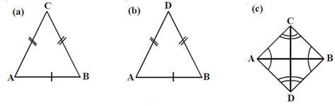 perhatikan dua gambar berikut pengertian dan sifat sifat belah ketupat serta rumus luas