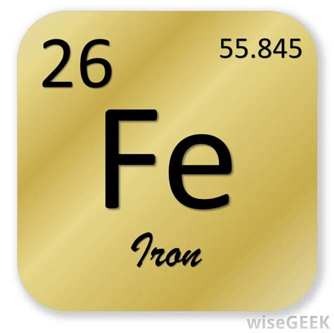 Iron On Periodic Table by In Chemistry What Is The Oxidation Number With Pictures