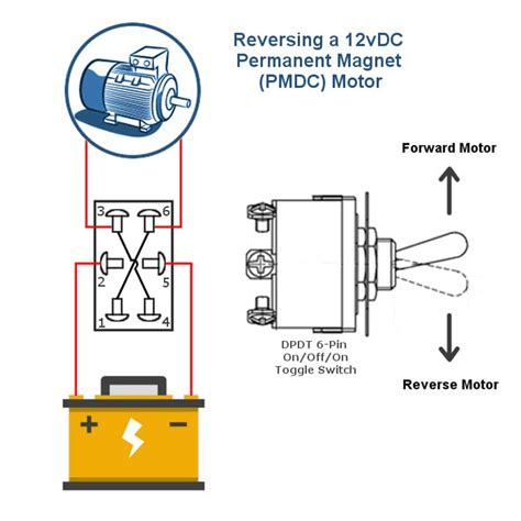 pin dpdt toggle switch mgi speedware