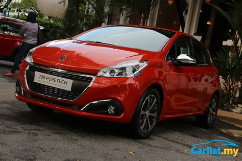 peugeot malaysia peugeot malaysia plans exciting 2017 peugeot 208 and