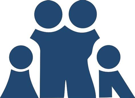 blue family slate blue family clip art at clker com vector clip art