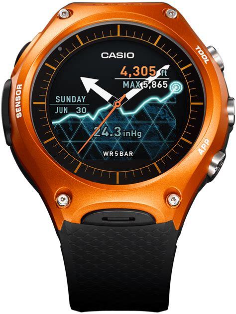 Casio Protrek Wsd F20 Like New did casio get their new wsd f10 smartwatch right