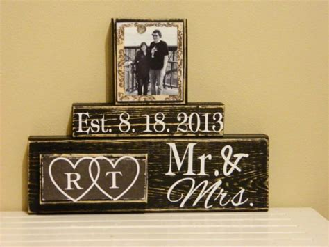 Wedding Gift Ideas Personalised by Personalized Wedding Gifts Ideas And Unique Wedding Gifts