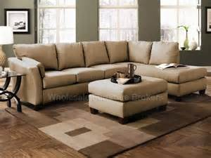 Microfiber Sectional Sofa With Chaise Drew Straw Microfiber Sectional Sofa With Chaise Raf At Gowfb Ca Klaussner Furniture