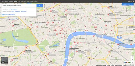 google images london google starting to highlight top directory sites in local
