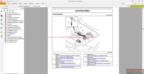 auto manual repair 2010 mazda mazda5 engine control mazda 6 full workshop manual inc engine manual auto