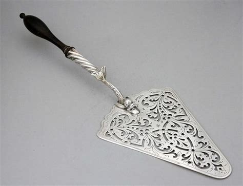 Kitchen Knives London cake slice london 1766 by william plummer early spoons