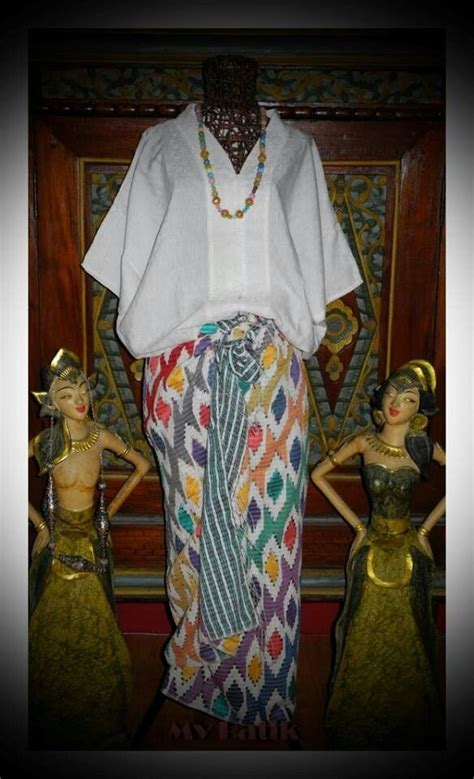 Kebaya Batik Turkis by 1000 Images About Ikat Batik Tenun Kebaya On