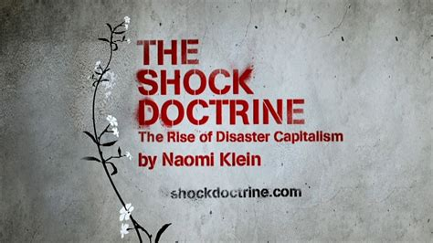 the shock doctrine the videos naomi klein videos trailers photos videos poster and more