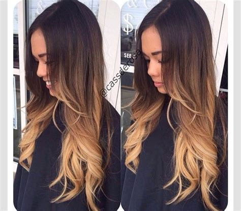 does hair look like ombre when highlights growing out 17 best images about shatush on pinterest graphic