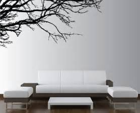 wall sticker for room large wall tree nursery decal oak branches 1130