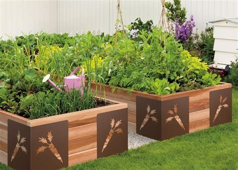 Creative Vegetable Gardens Raised Vegetable Garden Clever And Creative Home