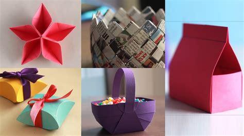 5 best paper crafts diy paper craft ventuno