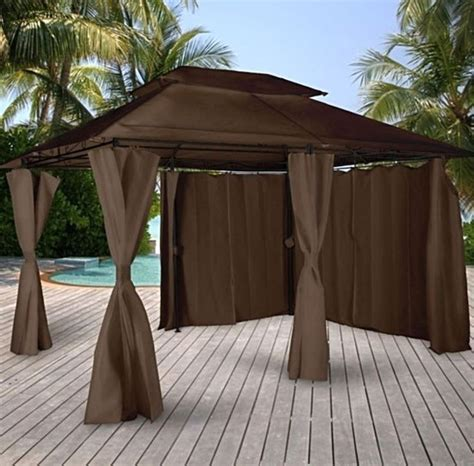gazebo waterproof best 25 waterproof gazebo ideas on pergola