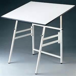 Small Drawing Desk Alvin Model X 4 Xb Professional Folding Drafting Table Small White Base 24in X 36in Top Angle