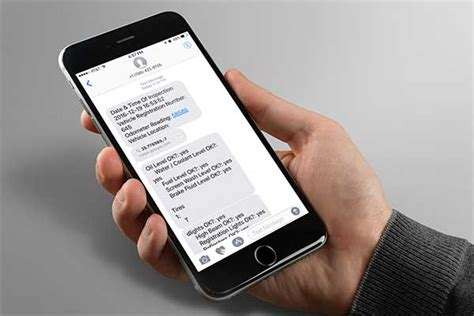 sms on mobile mobile forms sms notification device magic