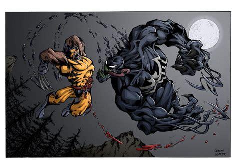 Imagenes De Wolverine Vs Venom | thejasman wolverine vs venom by gibsonquarter27