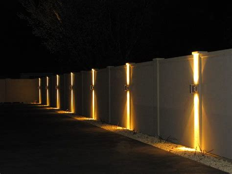 Fence Post Lighting   Lighting Ideas