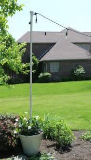 Planter Pole by Enbrighten Caf 233 Lights Diy Light Pole Planter Home