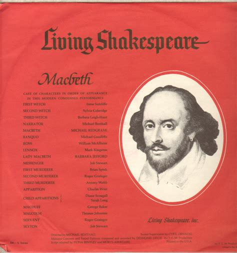 themes in 1984 and macbeth william shakespeare living shakespeare macbeth vinyl