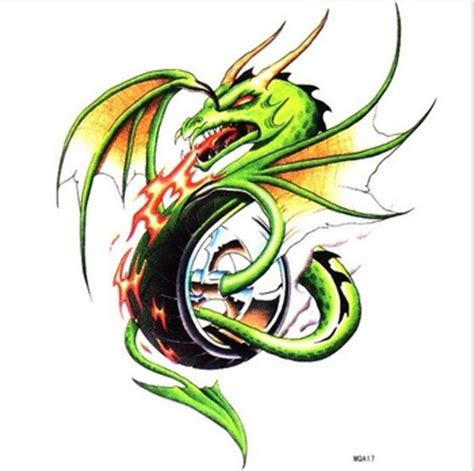 fire breathing dragon tattoo designs breathing tattoos clipart best
