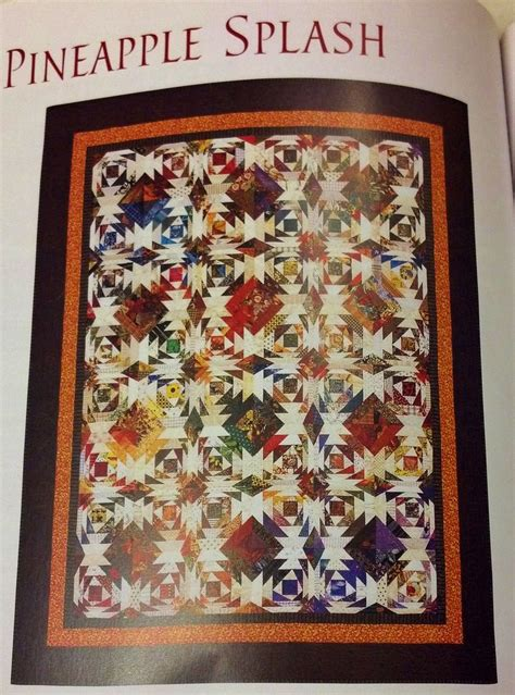 Pineapple Quilt Pattern by 17 Best Ideas About Pineapple Quilt Pattern On