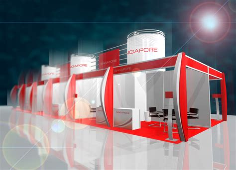 booth design singapore singapore pavilion booth in medical fair by sonic bar at