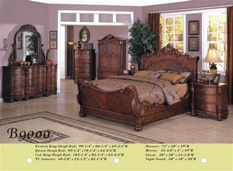 Wood Bedroom Furniture Sets by B9000 Solid Wood Bedroom Set Id 5005422 Product Details