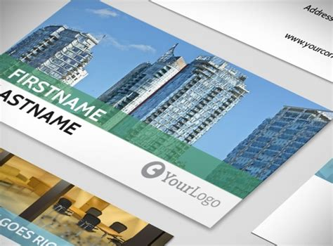 Commercial Business Card Template by Commercial Real Estate Brokers Business Card Templates