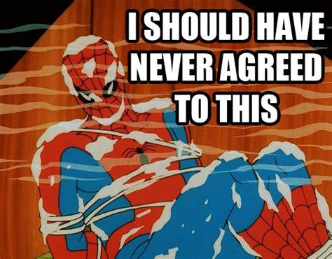 Retro Spiderman Meme - image 211841 60s spider man know your meme