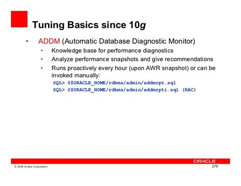 oracle sql query tuning tutorial oracle upgrade11gr1 workshop2