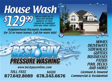 Best Guy Pressure Washing, Inc.   Gainesville, GA