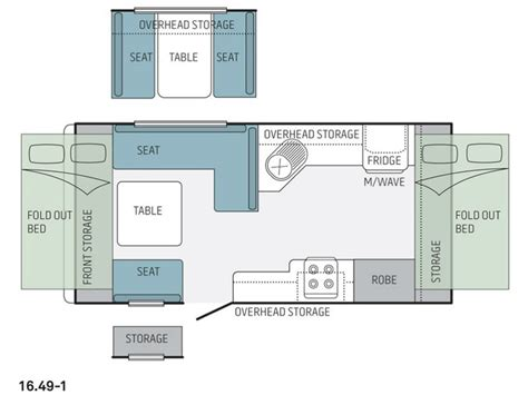 jayco caravan floor plans new jayco expanda 16 49 1 ob caravans for sale