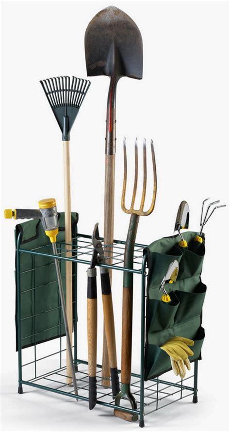 Garden Tool Storage Rack by New Metal Garden Tools Storage Rack Holder With Pockets Ebay