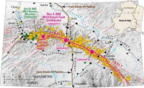 louisiana fault map denali s fault feature articles
