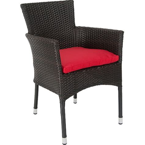Faux Wicker Patio Chairs by Vienna Patio Chair With Aluminum Frame And Faux Wicker