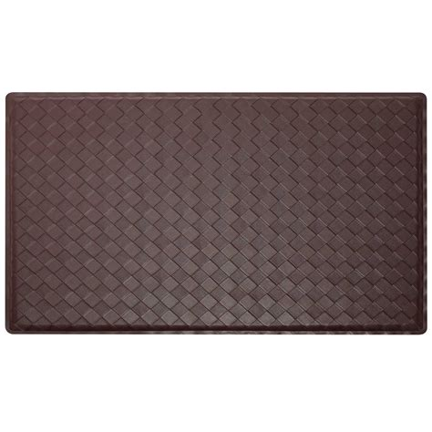 2 x 3 modern anti fatigue kitchen floor mat rug basket