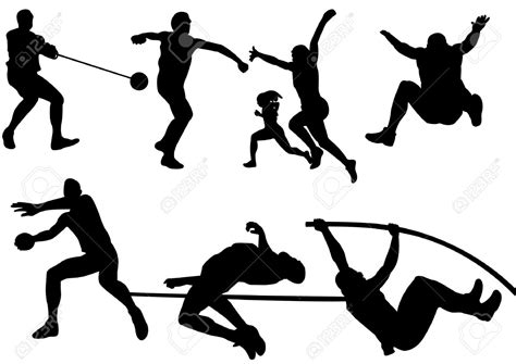 Track Events Clipart track and field events clipart 12 clipart station