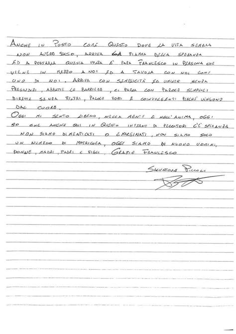 lettere per il papa le lettere dei detenuti di san vittore per il papa