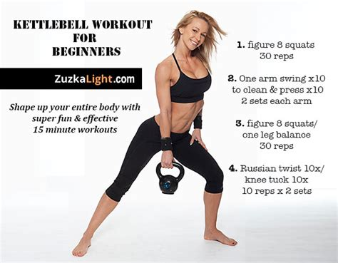 kettlebell workout for beginners zcut dvd zuzka light