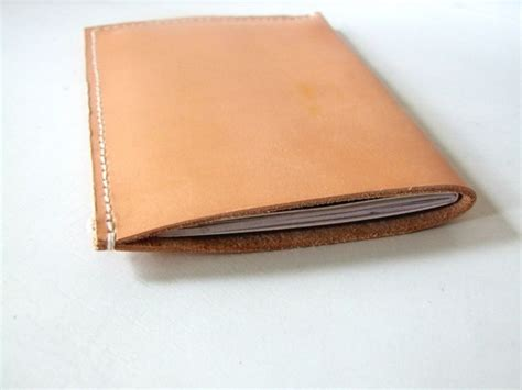 Handmade Passport Cover - leather passport holder passport cover passport sleeve